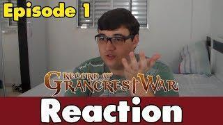 Record of Grancrest War Episode 1 REACTION [BR]