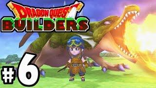 Dragon Quest Builders – PS4 Gameplay Walkthrough PART 6 – Green Dragon, Armor Knight, Town Level Up