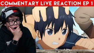 SAO IS INSANE!   Sword Art Online Alicization Episode 1 Commentary Live Reaction
