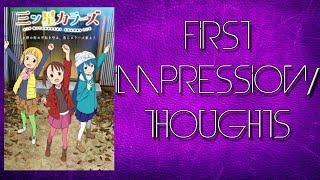 Mitsuboshi Colors 三ツ星カラーズ First Impression (Winter 2018 Anime)