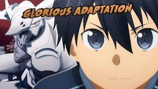Best Adaptation of SAO Yet   Sword Art Online Alicization Episode 1