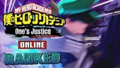 How Fast Am I? Let Me Show You! My Hero Academia: One's Justice Online Ranked #21
