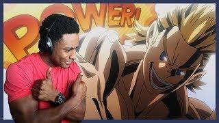 POWER!!!!   My Hero Academia 3×25   Reaction