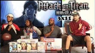 Grisha Yeager! Attack on Titan 3×11 REACTION/REVIEW
