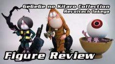 Revoltech Takeya ☠ Gegege no Kitaro Figure Review