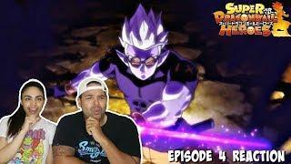 FU TRANSFORMS?! Dragon Ball Heroes Episode 4 REACTION!!!