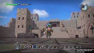 DRAGON QUEST BUILDERS roommate's base creation
