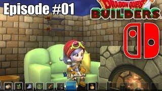 🐲 Dragon Quest Builders | Nintendo Switch Play-through Ep.01 | (Live stream Replay)