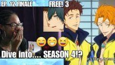 Free! 3rd Season Episode 12 Reaction FINALE