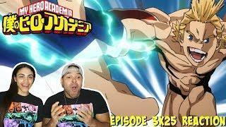 MIRIO VS UA STUDENTS! My Hero Academia Season 3 Episode 25 REACTION!!!