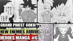 GRAND PRIEST GOKU?! Daishinkan Trains Goku?! New Enemies Arrive! Dragon Ball Heroes Manga Spoilers