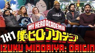 My Hero Academia – 1×1 Izuku Midoriya: Origin – Group Reaction