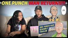 """""""One Punch Man"""" Season 2 Official Trailer REACTION!!!"""