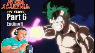 Two Heroes Movie Part 6 Ending! | My Hero Academia REACTION!!!