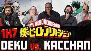 My Hero Academia -1×7 Deku vs Kacchan – Group Reaction