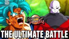 GOKU VS JIREN! – Dragon Ball FighterZ: Jiren, SSGSS Goku & SSGSS Vegeta Gameplay