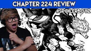 SHIGARKI'S VILLANOUS EVOLUTION! | My Hero Academia Chapter 224 Review
