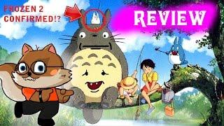 Squirrely Reviews: MY NEIGHBOR TOTORO (1988)