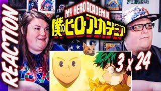 """My Hero Academia Episode 62 (3×24) REACTION!! """"A Season for Encounters"""""""