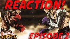 He KNOCKED the SOUL out of this dude! | Megalo box Episode 2 Reaction [Say yes to Anime Episode 2