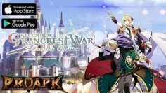 Record of Grancrest War: Quartet Conflict Gameplay Android / iOS (by BANDAI NAMCO)