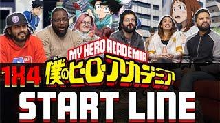 My Hero Academia – 1×4 Start Line – Group Reaction