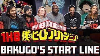 My Hero Academia – 1×8 Bakugo's Start Line – Group Reaction