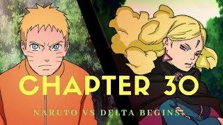 Boruto Chapter 30 Review~Naruto's Battle For Kawaki!