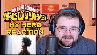 """My Hero Academia – Se3 Ep4 – """"My Hero"""" – Reaction"""