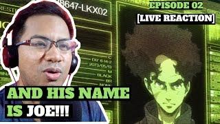 MEGALO BOX: Episode 2 – A New Joe Is Born!!! [LIVE REACTION]