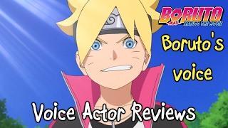 Boruto's English Voice – Voice Actor Reviews