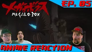 YOU SEE THE BUTTERFLIES, DON'T YOU? | Anime Reaction: Megalo Box Ep. 05