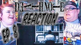 "Death Note Episode 8 REACTION!! ""Glare"""