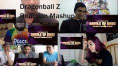 "Dragon Ball Z: Resurrection ""F"" US/English Trailer REACTION MASHUP."
