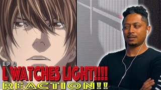 L Watches Light! First Time Watching Death Note Episode 8 Reaction!