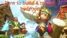 How To Build A Master Bedroom In Dragon Quest Builders!!!