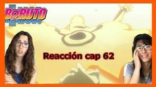 BORUTO REACTION CAP 62- LLEGAN LOS OTSUTSUKI