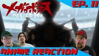 Anime Reaction: Megalo Box Ep. 11