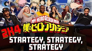 My Hero Academia – 2×4 Strategy, Strategy, Strategy – Group Reaction