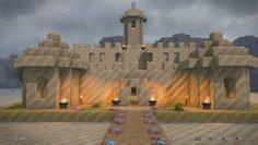 Dragon Quest Builders 2 – Sandcastle build