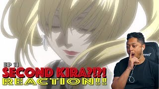 Second Kira?! First Time Watching Death Note Episode 11 Reaction