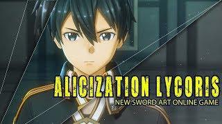 Sword Art Online: Alicization Lycoris – Known Details & Trailer Breakdown | Alicization EXPLAINED