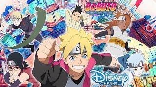 Boruto Disney Channel Promo Romania