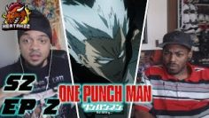 Garou's A Savage! One Punch Man 2×2 Reaction