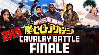 My Hero Academia – 2×5 – Cavalry Battle Finale – Group Reaction