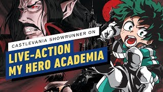 My Hero Academia: Castlevania Showrunner Wants to Make Live-Action Adaptation