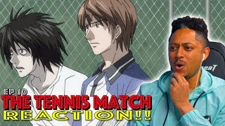 First Time Watching Death Note Episode 10 Reaction!