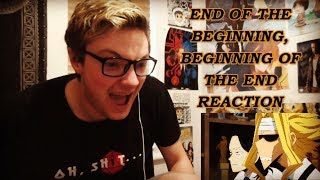 MY HERO ACADEMIA [ENG DUB] – 3X12 END OF THE BEGINNING, BEGINNING OF THE END REACTION