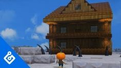 The Haunted House Build-Off In Dragon Quest Builders 2