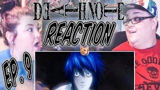 "Death Note Episode 9 REACTION!! ""Encounter"""